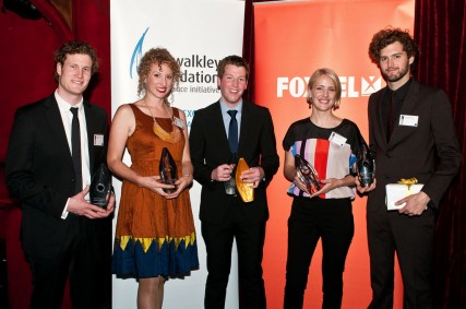 Young Walkley Award winners